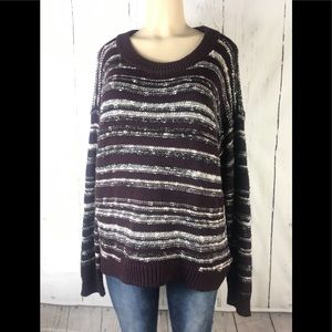 Calvin Klein Jeans knit sweater large